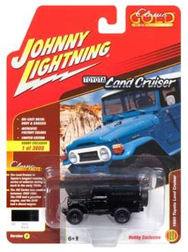 Toyota  - Land Cruiser 1980 black/grey - 1:64 - Johnny Lightning - JLSP004A | The Diecast Company