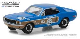 Ford  - Mustang 1968  - 1:64 - GreenLight - 13220E - gl13220E | The Diecast Company