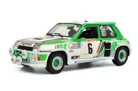 Renault  - 5 Turbo Gruppe B green/white - 1:18 - Solido - 1801303 - soli1801303 | The Diecast Company