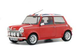 Mini  - Cooper 1997 red/union jack - 1:18 - Solido - 1800604 - soli1800604 | The Diecast Company