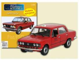 Fiat  - 125P red - 1:43 - Magazine Models - PCfi125Ptaxi - magPCfi125Ptaxi | The Diecast Company