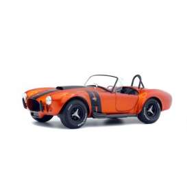 Shelby  - Cobra 427 MKII orange/black - 1:18 - Solido - 1850016 - soli1850016 | The Diecast Company