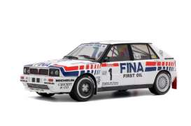 Lancia  - Delta Integrale 16V #1 1991 white/blue/red - 1:18 - Solido - 1800801 - soli1800801 | The Diecast Company