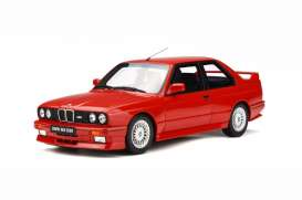 BMW  - M3 E30 Sport Evo 1990 red - 1:18 - Solido - 1801502 - soli1801502 | The Diecast Company