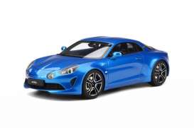 Alpine  - A110 2017 blue - 1:18 - Solido - 1801601 - soli1801601 | The Diecast Company