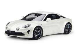 Alpine  - A110 2017 white - 1:18 - Solido - 1801602 - soli1801602 | The Diecast Company
