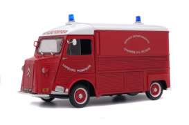 Citroen  - HY red/white - 1:18 - Solido - 1850013 - soli1850013 | The Diecast Company