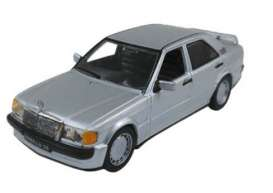 Mercedes Benz  - 190E W201 1984 astral silver - 1:43 - Solido - 4302700 - soli4302700 | The Diecast Company