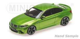 BMW  - M2 2016 green metallic - 1:43 - Minichamps - mc410026107 | The Diecast Company