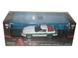 Chevrolet  - Corvette C4 *A-Team* 1984  - 1:43 - GreenLight - 86517 - gl86517GM | The Diecast Company