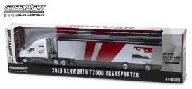 Kenworth  - 2018 white/red - 1:64 - GreenLight - 29951 - gl29951 | The Diecast Company