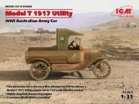 Ford  - T Utility vehicle 1917  - 1:35 - ICM - icm35664 | The Diecast Company