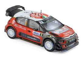 Citroen  - C3 WRC #8 2017  - 1:43 - Norev - 155364 - nor155364 | The Diecast Company