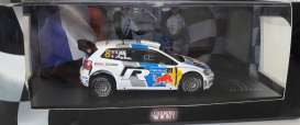 Volkswagen  - Polo R WRC #8 2001 white/blue - 1:43 - Magazine Models - RAvwPolo - MagRAvwPolo | The Diecast Company