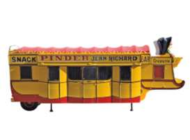 Pinder Circus  - yellow/red - 1:43 - Magazine Models - PinC05 - magPinC05 | The Diecast Company