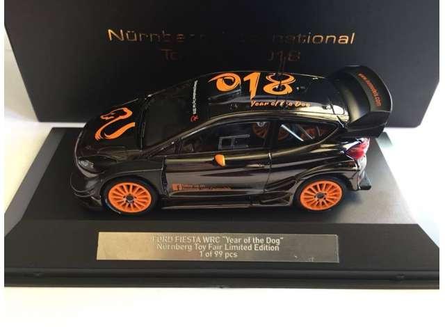 ac6277dea9e Ford | Fiesta WRC 2018 Black/orange | 1:43 | IXO Models | ixofiesta ...