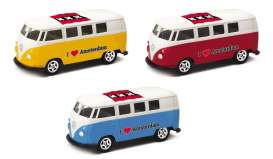 Volkswagen  - T1 Bus 1962 various - 1:64 - Welly - 52221AM - welly52221AM | The Diecast Company