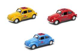 Volkswagen  - Beetle 1963 various - 1:34 - Welly - welly42343AM | The Diecast Company