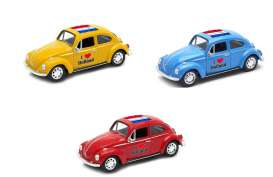 Volkswagen  - Beetle 1963 various - 1:34 - Welly - welly42343HOL | The Diecast Company