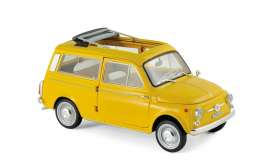 Fiat  - Giardiniera 1968 yellow - 1:18 - Norev - nor187724 | The Diecast Company