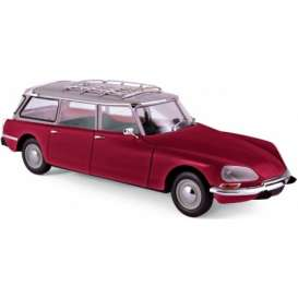 Citroen  - Break 21 1970 bordeaux - 1:18 - Norev - nor181592 | The Diecast Company