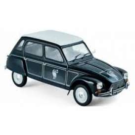 Citroen  - Dyane 6 *Caban* 1977 black - 1:18 - Norev - nor181622 | The Diecast Company