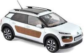 Citroen  - C4 Cactus 2014 white/chocolate - 1:18 - Norev - nor181651 | The Diecast Company
