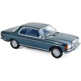 Mercedes Benz  - 280 CE 1980 blue - 1:18 - Norev - nor183589 | The Diecast Company