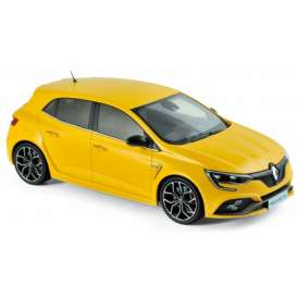 Renault  - Megane RS 2017 yellow - 1:18 - Norev - nor185226 | The Diecast Company