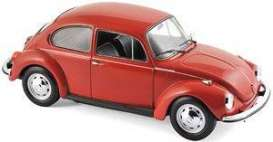 Volkswagen  - Beetle 1303 1972 red - 1:18 - Norev - 188520 - nor188520 | The Diecast Company