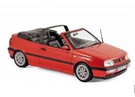 Volkswagen  - Golf Cabriolet  1995 red - 1:18 - Norev - nor188433 | The Diecast Company