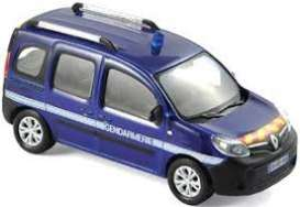 Renault  - Kangoo *Gendarmerie Outremer* 2013 blue - 1:43 - Norev - nor511325 | The Diecast Company