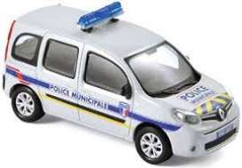 Renault  - Kango *Police Municiaple* 2013 grey - 1:43 - Norev - nor511324 | The Diecast Company