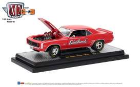 Chevrolet  - Camaro SS/RS 1969 red - 1:24 - M2 Machines - M2-40300-61B | The Diecast Company