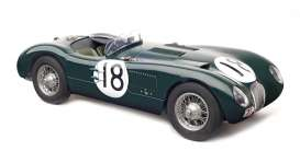 Jaguar  - C-Type XKC 1953 british racing green - 1:18 - CMC - 195 - cmc195 | The Diecast Company