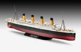 Boats  - RMS Titanic 1912 red/black/white - 1:600 - Revell - Germany - revell05498 | The Diecast Company