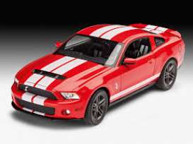 Ford  - Shelby GT 500 2010  - 1:25 - Revell - Germany - revell07044 | The Diecast Company