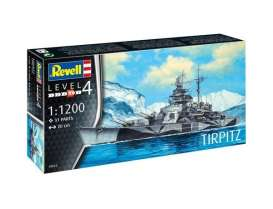 Boats  - Tirpitz  - 1:1200 - Revell - Germany - 65822 - revell65822 | The Diecast Company