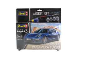 Porsche  - Panamera Turbo  - 1:24 - Revell - Germany - revell67034 | The Diecast Company