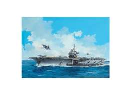 U.S.S.  - Aircraft Carrier U.S.S. Forres 1955  - 1:542 - Revell - Germany - 05156 - revell05156 | The Diecast Company