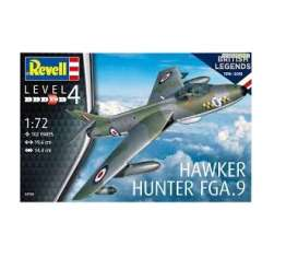 Military Vehicles  - Hawker Hunter FGA  - 1:72 - Revell - Germany - 03908 - revell03908 | The Diecast Company