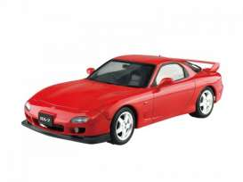 Mazda  - RX7 FD3S 1999 vintage red - 1:24 - Aoshima - abk154970 | The Diecast Company