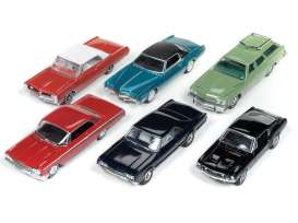 Assortment/ Mix  - various - 1:64 - Auto World - 64182A - AW64182A | The Diecast Company