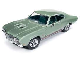 Buick  - Grand Sport 1970 green - 1:18 - Auto World - AMM1149 | The Diecast Company
