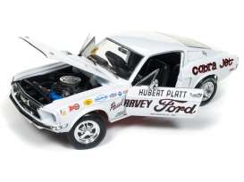 Ford  - Mustang 2+2 *Hubert Platt* 1965 white - 1:18 - Auto World - 247 - AW247 | The Diecast Company