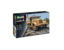 Military Vehicles  - Sd.Kfz.7 (late Production)  - 1:72 - Revell - Germany - 03263 - revell03263 | The Diecast Company