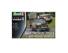 Military Vehicles  - Various  - 1:35 - Revell - Germany - 03260 - revell03260 | The Diecast Company