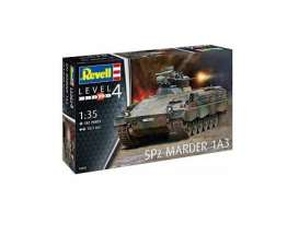 Military Vehicles  - SPz Marder 1 A3  - 1:35 - Revell - Germany - revell03261 | The Diecast Company