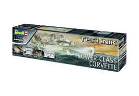 Boats  - Flower Class Corvette  - 1:72 - Revell - Germany - revell00451 | The Diecast Company