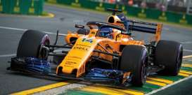 McLaren Renault - MCL33 2018 yellow-orange - 1:18 - Minichamps - 530181814 - mc530181814 | The Diecast Company